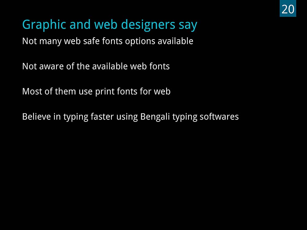 D'source Case Study - Slide Show | Designing a Typeface in Bengali