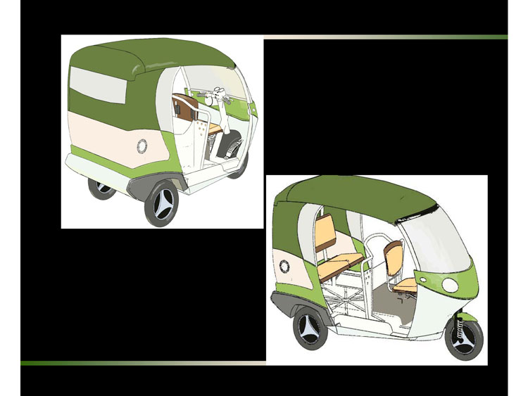 d 39 source case study slide show three passenger auto rickshaw d 39 source digital online. Black Bedroom Furniture Sets. Home Design Ideas