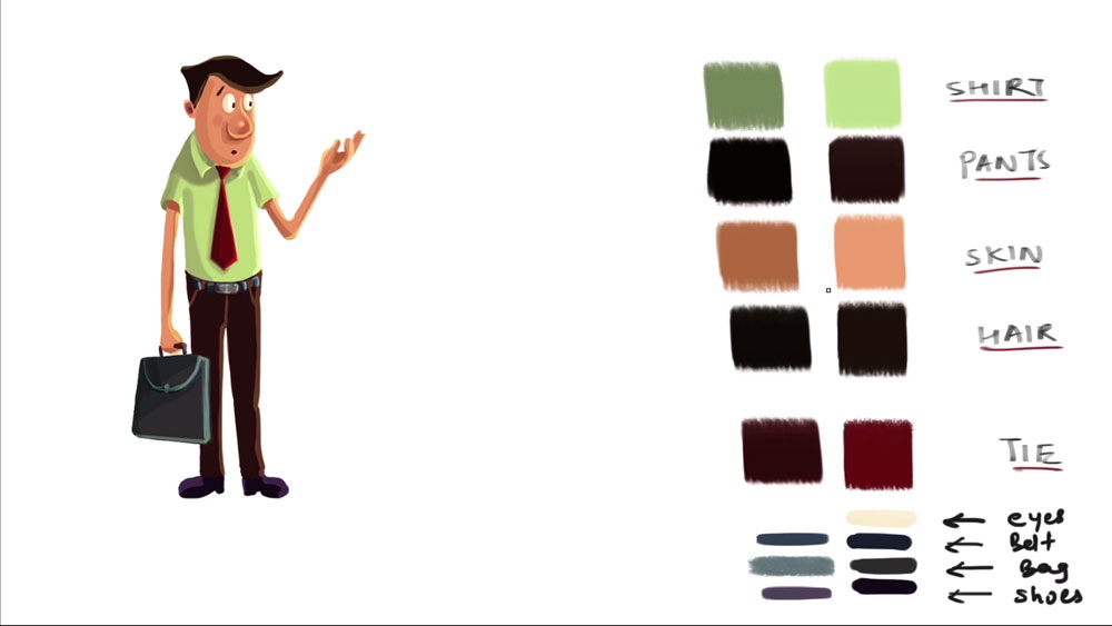 Character Design For Animation Course : D source colors character design for animation