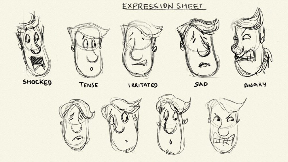 Character Design For Animation Course : D source expressions character design for animation
