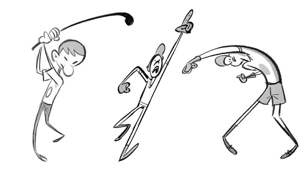 exaggerated animated principle Character animation fundamentals: squash and stretch   in essence, squash and stretch is there to give more exaggerated movement to characters or objects it is quite literally, the squashing and stretching of objects  despite it being likely the more well known principle of animation it isn't always shown in the best light.