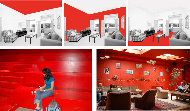 Red Can Also Give Energizing Effect And Is Used In Case Of Trendy Fast Food  Joints, Pubs Etc. However, Over Use Of Red Can Add Complexity To Space And  Hence ...