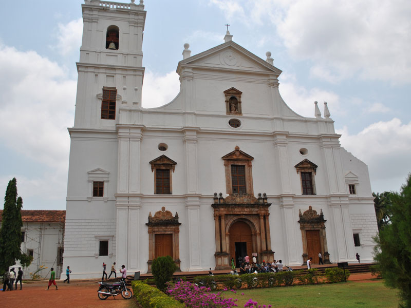 D Source Design Gallery On St Cathedral Goa The St