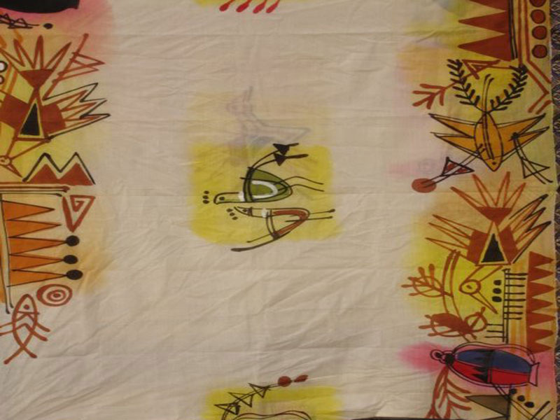 Most Of The Natural Elements Are Used To Design Border Saree Like Chicken Mountains Birds Fish Or In A Combination