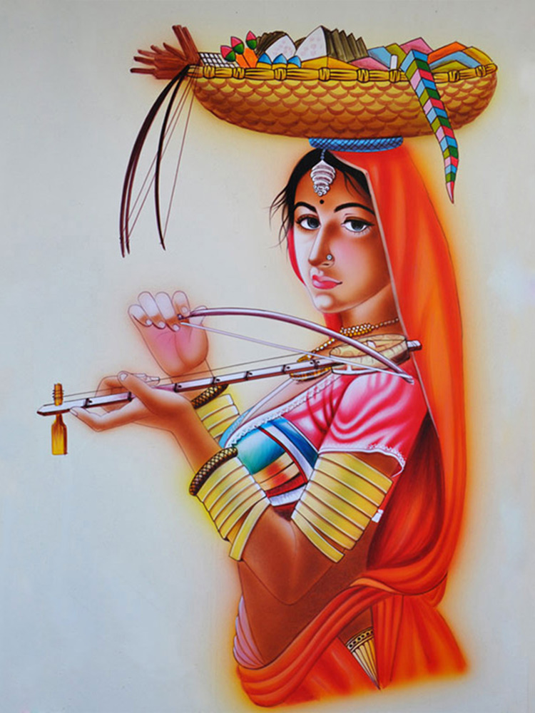 Dsource Design Gallery on Nirmal Painting Traditional
