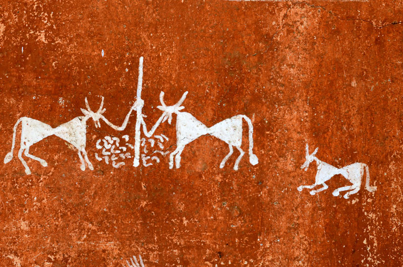 D Source Design Gallery On Warli Painting 2 The Form