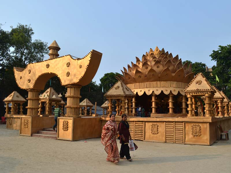 Dsource design gallery on durga puja pandals dsource digital pandal 5 altavistaventures Choice Image