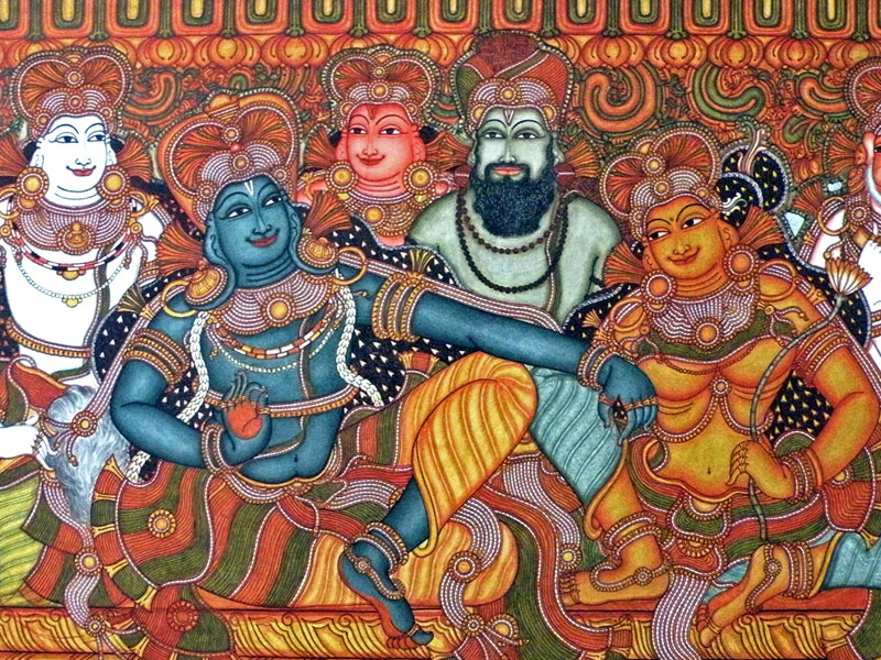 D 39 source design gallery on kerala murals the art of for Design a mural online