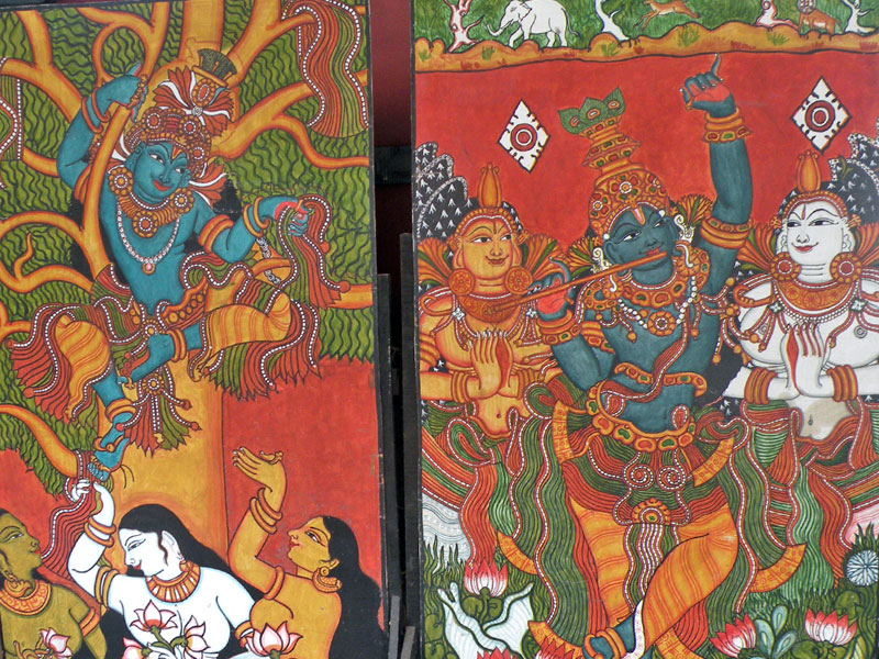 D Source Design Gallery On Kerala Murals The Art Of Painting On