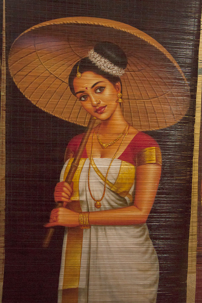 D Source Introduction Bamboo Mat Painting Thrissur Kerala D