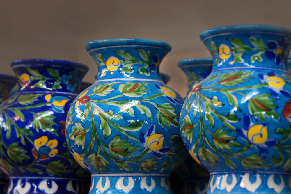 D Source Products Blue Pottery Jaipur Rajasthan D Source Digital Online Learning