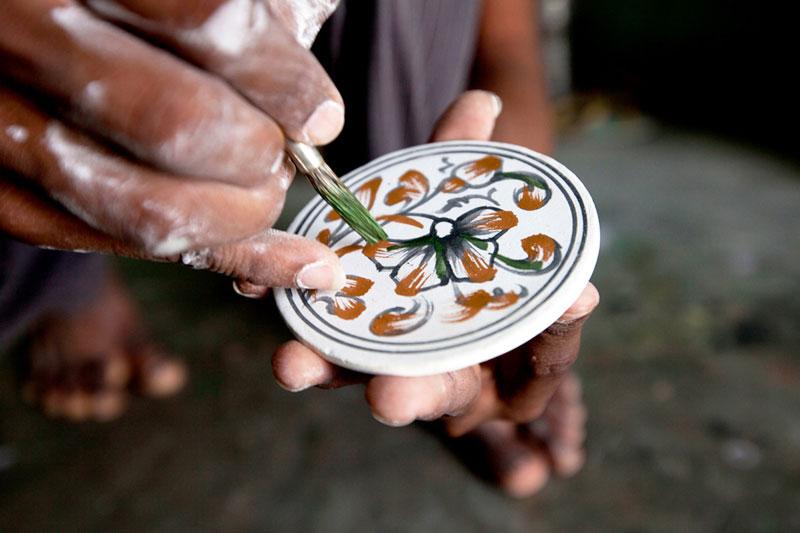 D Source Making Process Blue Pottery Jaipur D Source