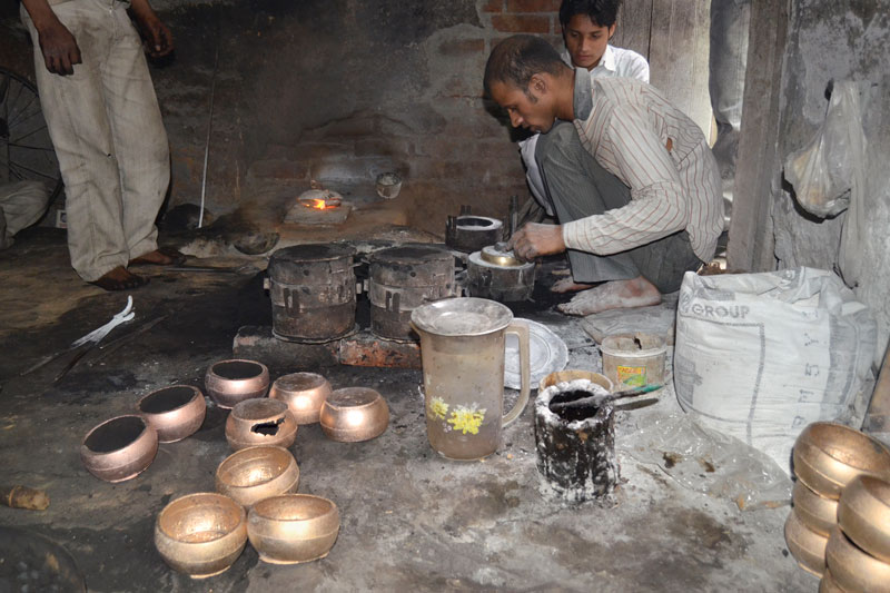 Muslims And Metalworkers A Day In Moradabad: Brass Work Of Moradabad