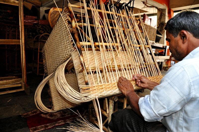 d source making process cane furniture bangalore d source