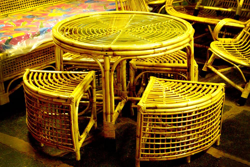 Dsource Introduction Cane Furniture Sandur Karnataka