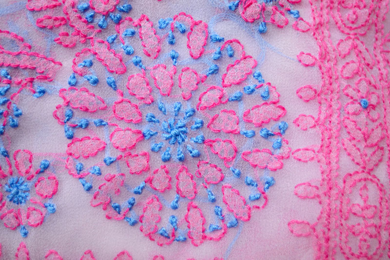 D Source Products Chikankari Embroidery Of Lucknow D