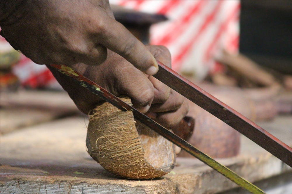D'source Making Process | Coconut Shell Craft - Alleppey, Kerala | D