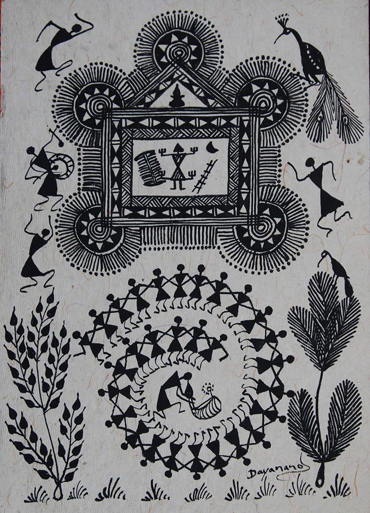 Dsource warli paintings documentation of warli art dsource search form thecheapjerseys Image collections