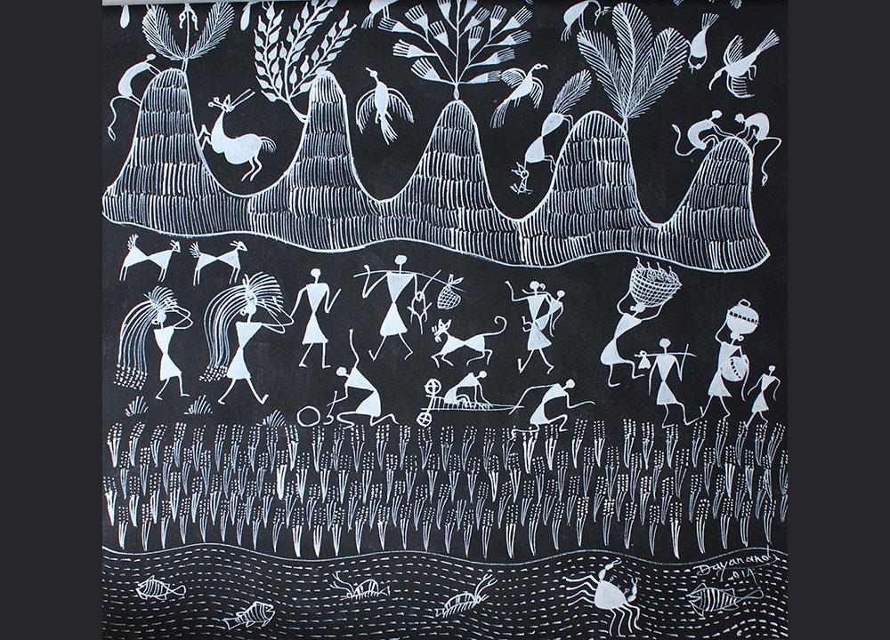 Dsource warli paintings documentation of warli art dsource col sm 12 altavistaventures Image collections