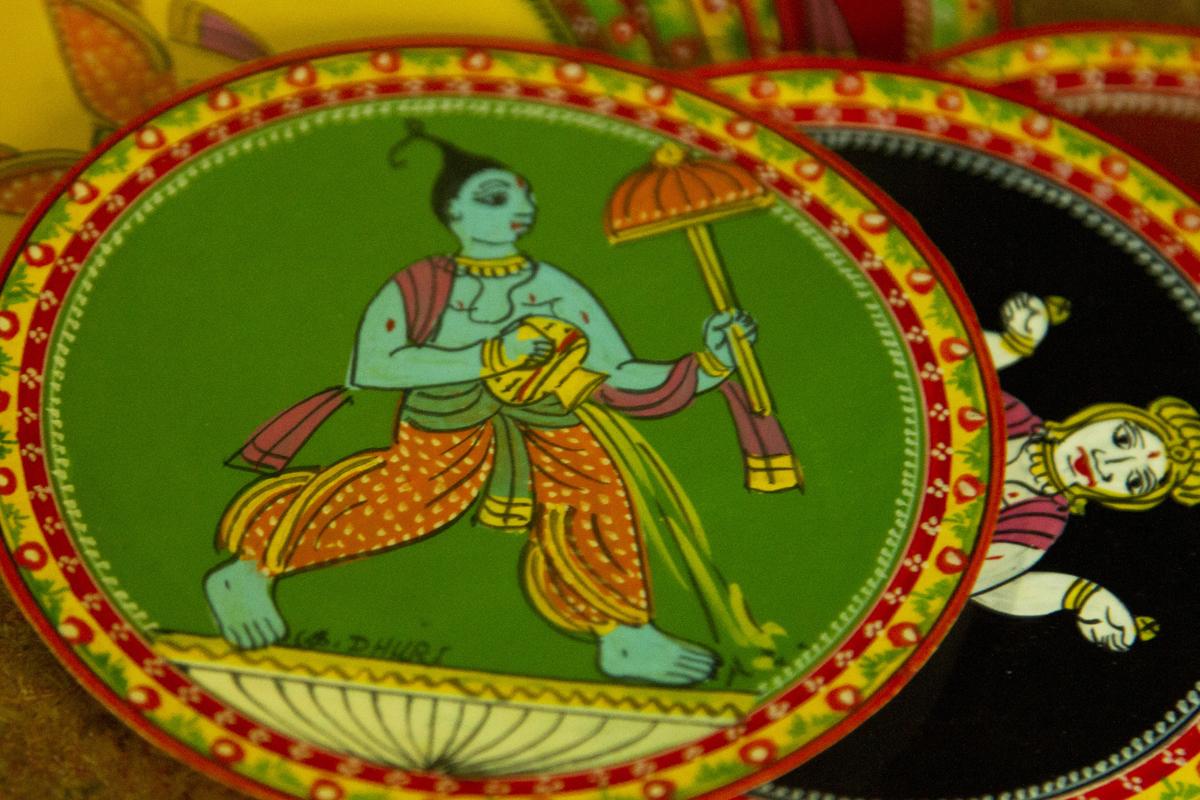 D Source Introduction Ganjifa Cards Sawantwadi D