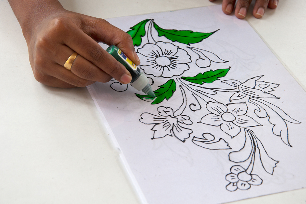 D Liner For Glass Painting
