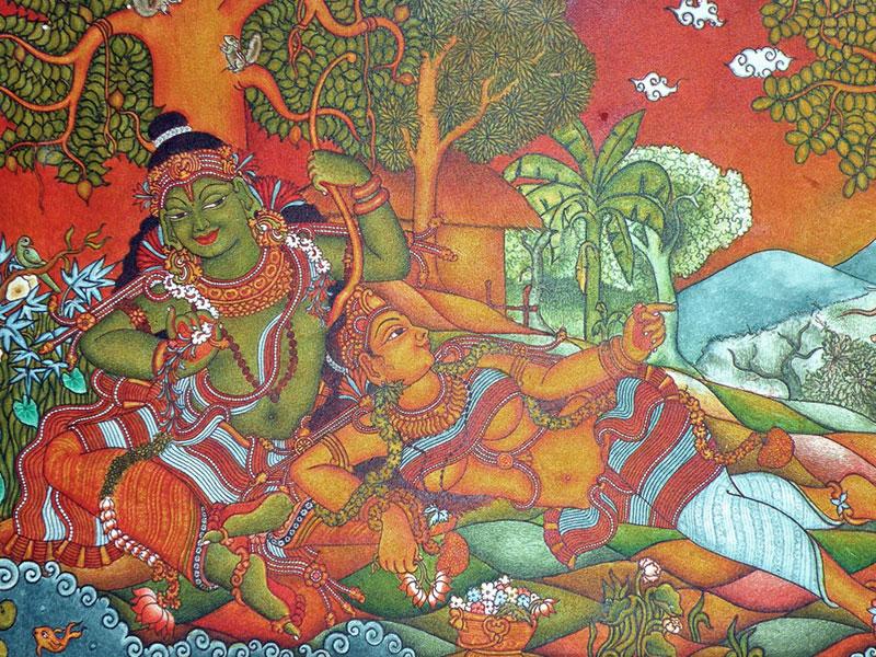 D Source Introduction Kerala Murals D Source Digital
