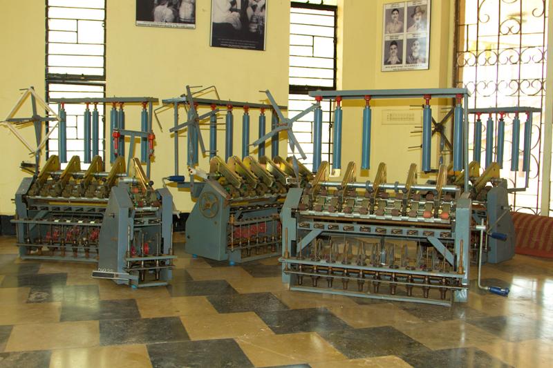 D Source Tools And Raw Materials Khadi Weaving Belgaum
