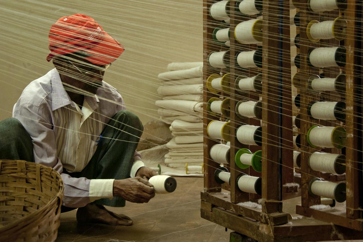 D'source Making Process | Khadi Weaving - Sandur