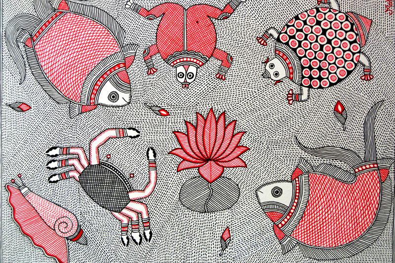madhubani painting case study Folk and minor art in india facebook twitter  school of art in madhubani painting  case study 1 stylistic variety in bengal.