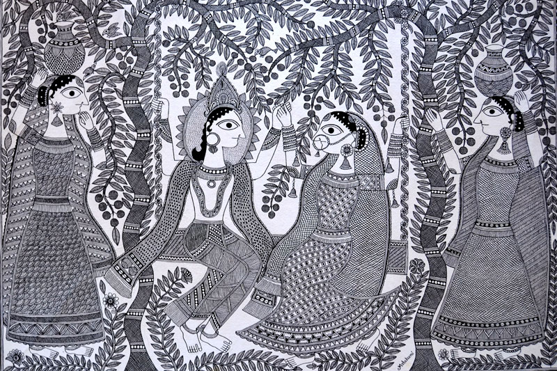 D Source Products Madhubani Paintings Of Bihar D
