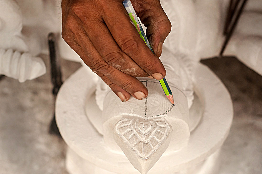 D Source Making Process Marble Idols Agra D Source