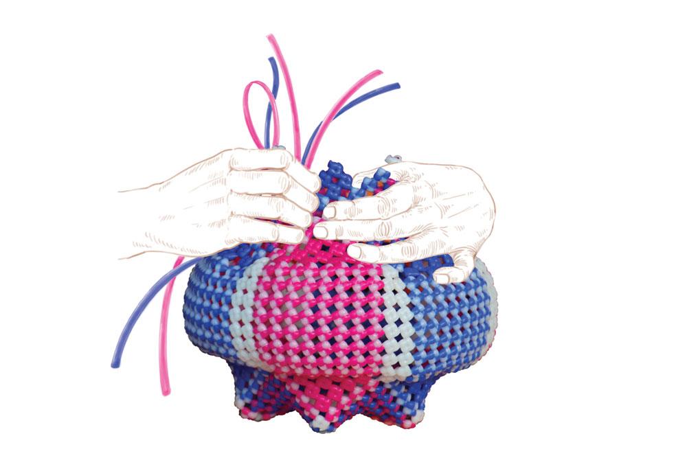 D\'source Making Process | Plastic Basketry | D\'Source Digital Online ...