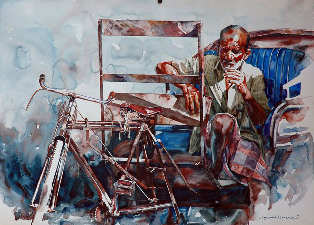 d source indian watercolor artists rendering medium for
