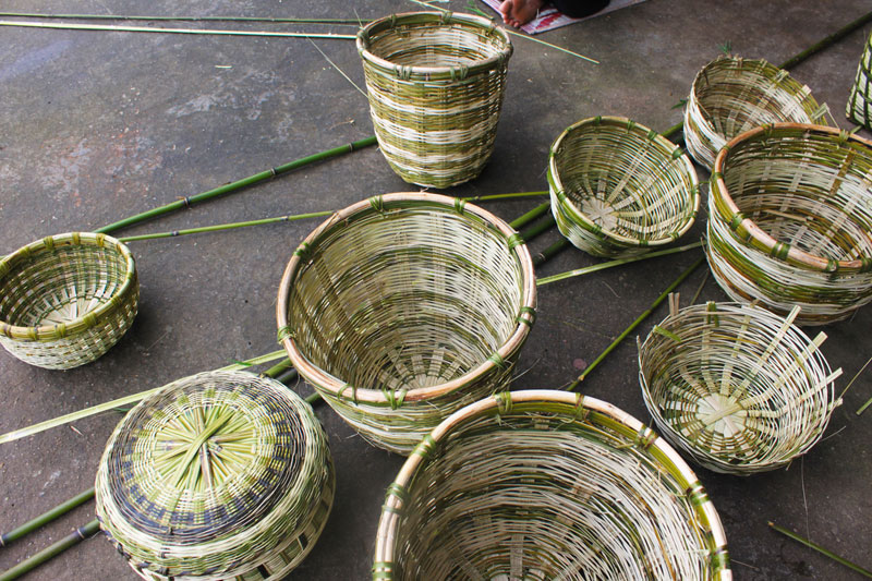 D Source Products Ringal Bamboo Basketry Uttarakhand