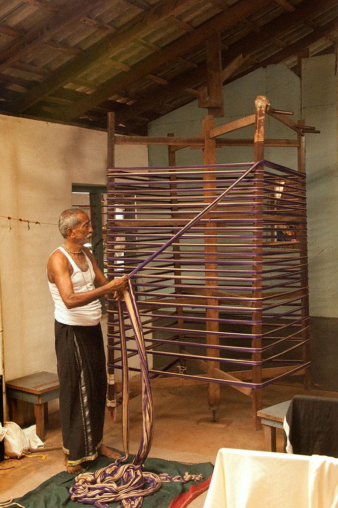 D'source Making Process | Saree Weaving - Kasargod, Kerala
