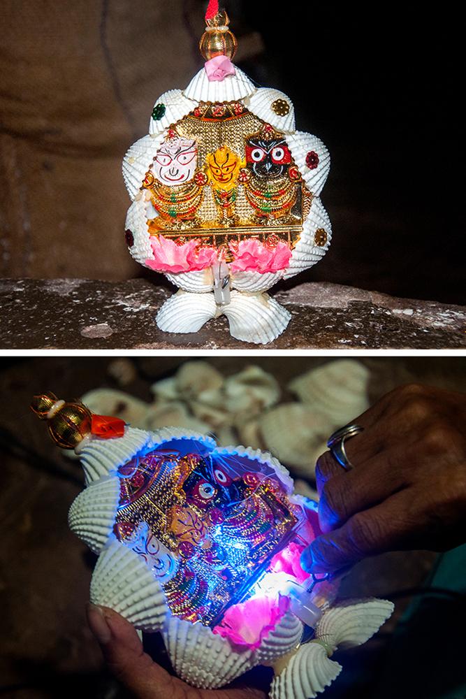 D Source Making Process Seashell Craft Puri Orissa