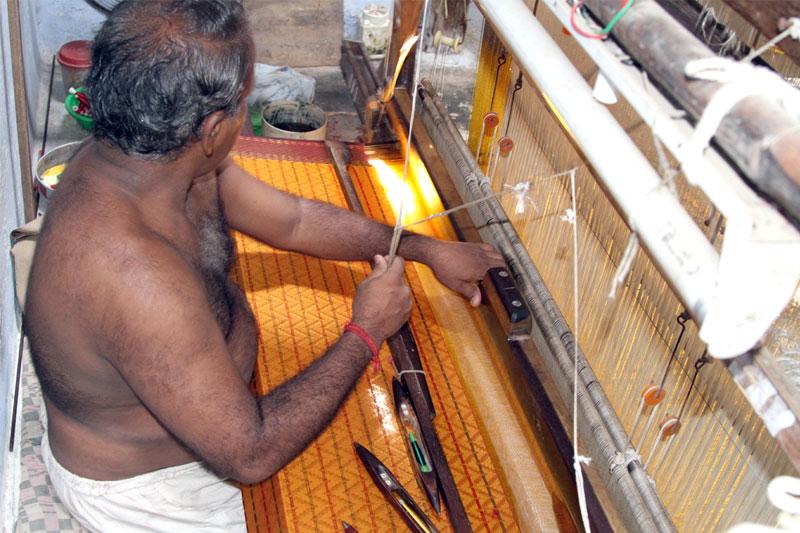 D Source Making Process Silk Saree Weaving D Source