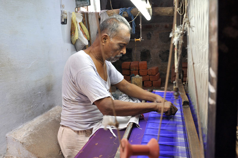 the process of making silk A look at the the exacting and demanding process that goes into making high quality silk.