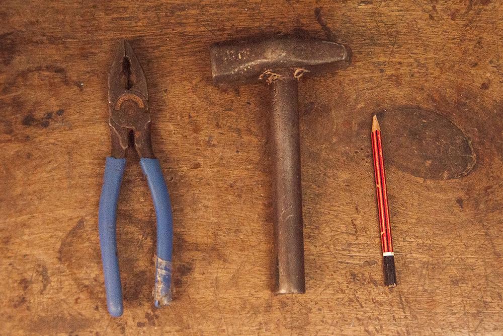 D Source Tools And Raw Materials Tabala Making