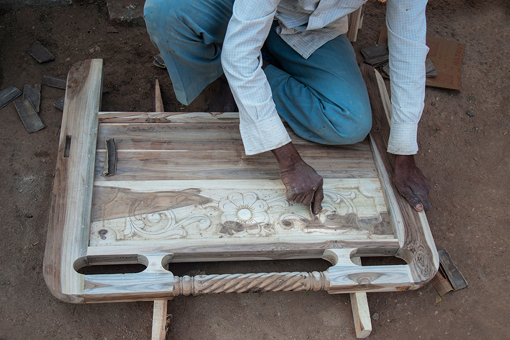 D Source Making Process Wood Carving Furniture D
