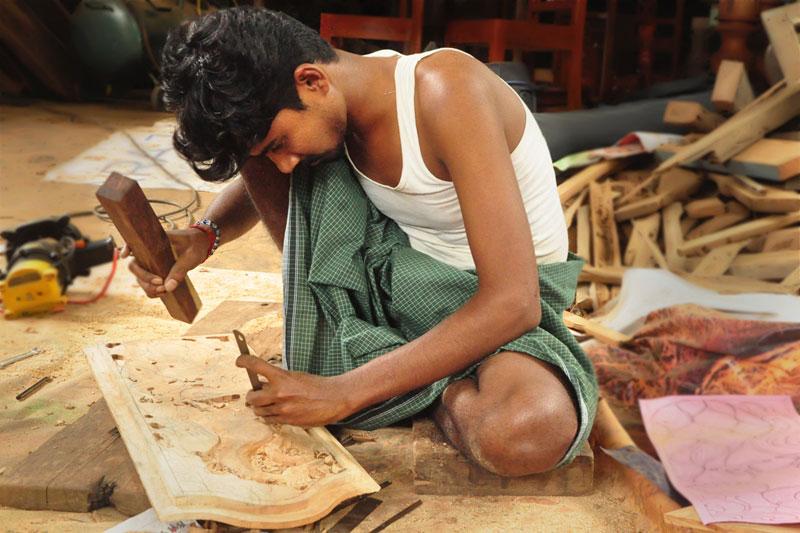 D Source Introduction Wood Carving In Karaikudi D