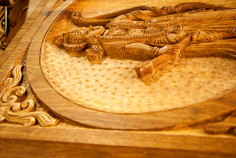 D Source Making Process Wood Carving Kerala D Source