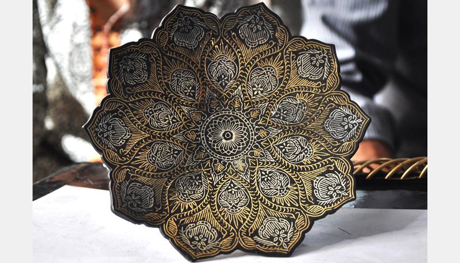 D Source Design Gallery On Bidri Ware Hyderabad Handicraft Of Bidar D Source Digital