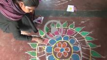 Rangoli Art - Yadgiri