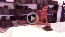 Dye and Block Printing Process
