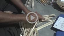 Making of Bamboo Frame - Agartala, Chandmari