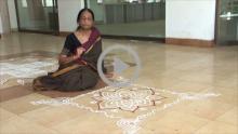 Significance of Hridaya Kamalam kolam