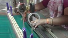 Kandangi Saree Weaving